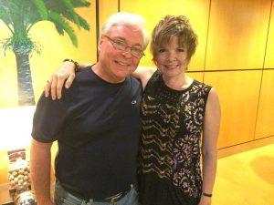 Karrin Allyson & her guitarist Rod Fleeman