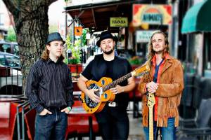 Anchondo - Richard Allen Photography Members: Hector Anchondo guitar/vocals, Carl Brown bass, and Khayman Winfield drums