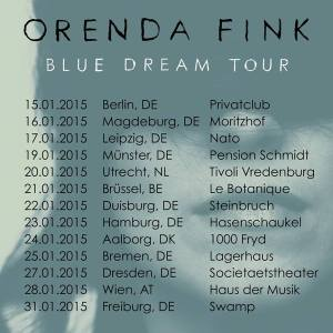 Orenda Fink's Blue Dream Tour / Jan 2015