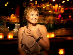 """...since I'm on the road so much, it's imperative that I REST my voice when I can--"" - Karrin Allyson"