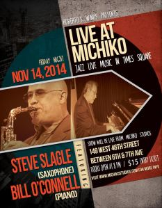 Live at Michiko - Steve Slagle and Bill O'Connell