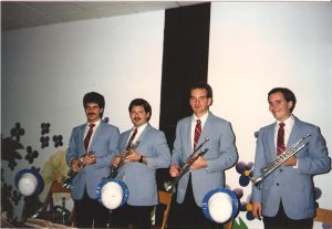 Summer of 1987 on the road with the Glenn Miller Orchestra