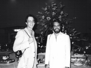 Mike & Randy @ Aurex Jazz Festival, Japan - 1980 (Photo by Peter Erskine)