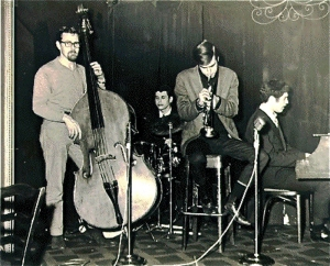 Randy Quartet l'Intrigue '67 with Galper, Gaylor. Schaeffer