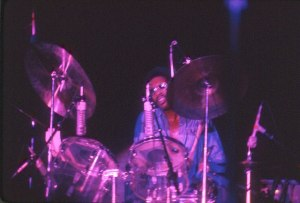 Ron E. Beck with Tower of Power, circa 70's