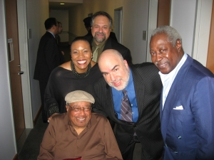 Randy with Horace Silver, Dee Dee Bridgewater, Joe Lovano, Roger Humphries