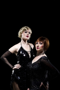 Kirstin Kluver and Melanie Walters in Chicago at Omaha Community Playhouse